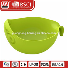 2015 new design fruit vegetable plastic colander