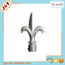 drapery hardware pull wrought iron curtain rods