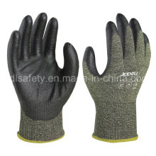 PU Dipping Anti-Cut Work Glove with Steel Fiber (NK3047)