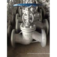 Válvula de globo de brida de acero al carbono para la industria (J41W)