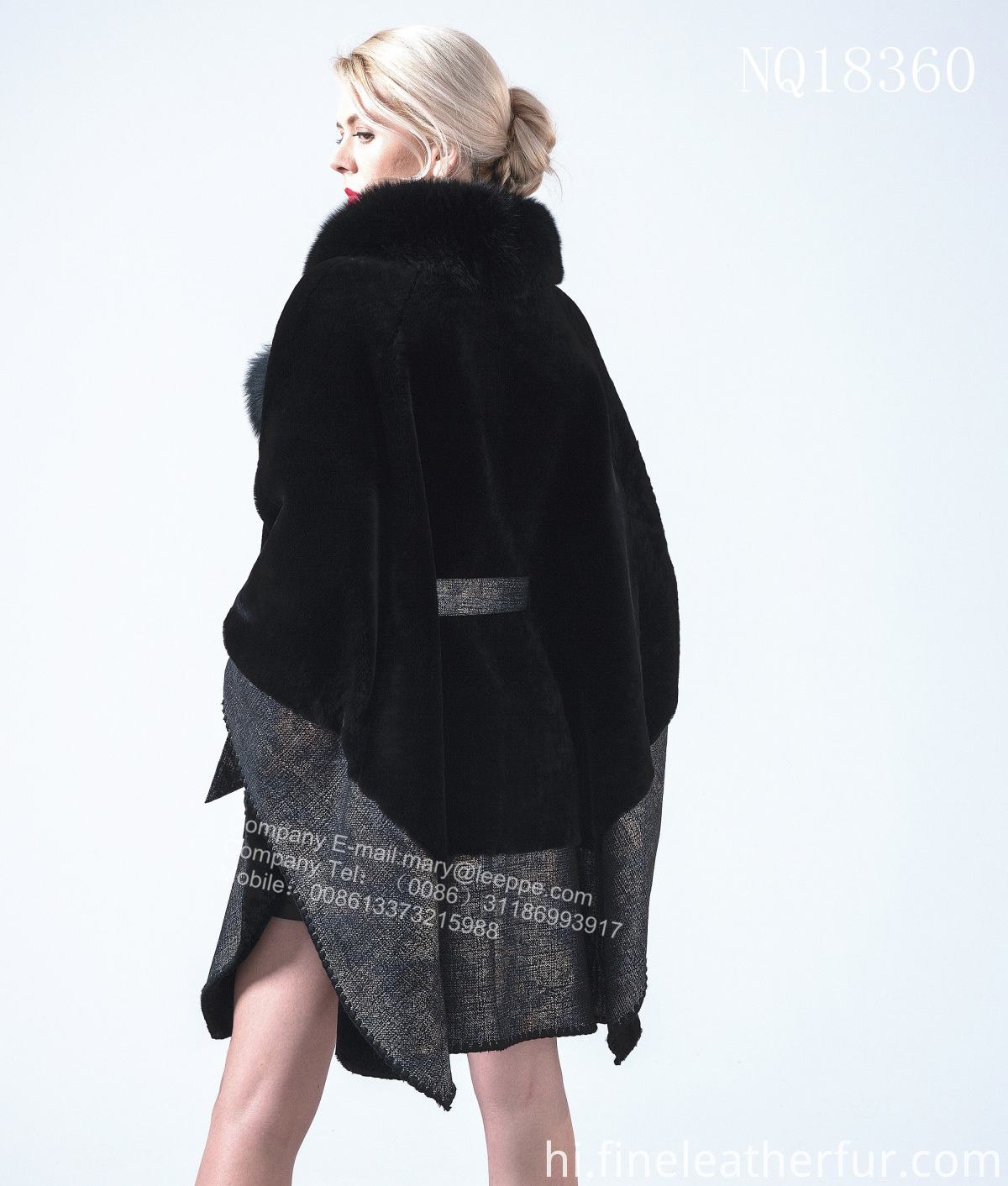 Women Cape Coat
