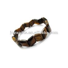 Tigerauge Edelstein Perle Armband