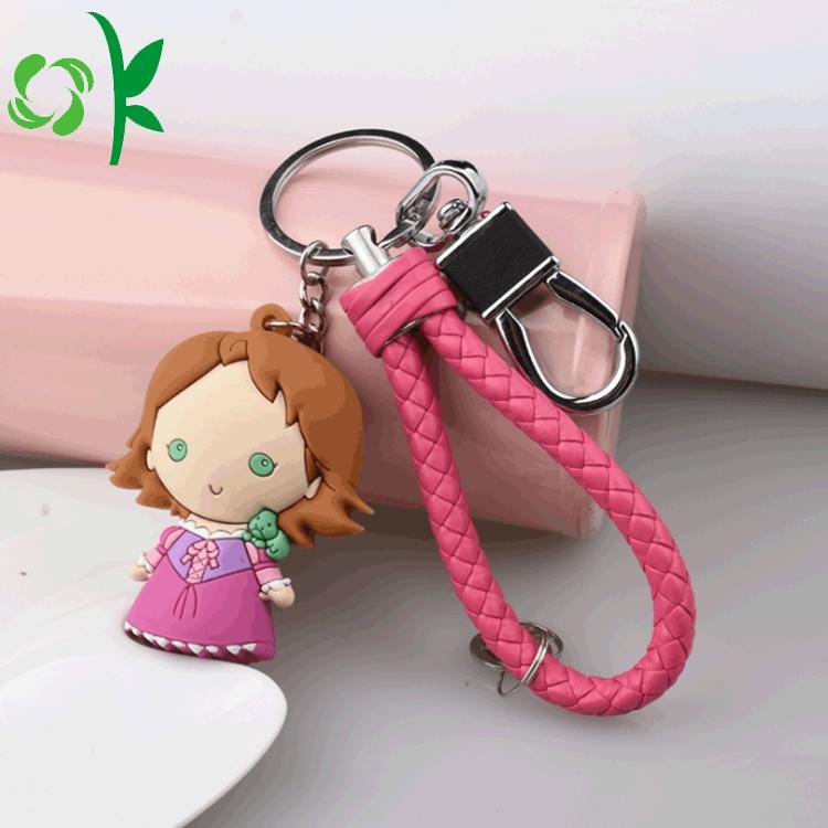 Custom Silicone Keychain