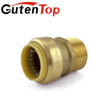 LB-GutenTop Hot Sales Alta qualidade chumbo cobre cUPC latão & plástico push in fit conector da tubulação de montagem do encanamento de água