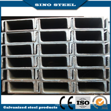 Q235B Hot Dipped Zinc Coated Construction Channel