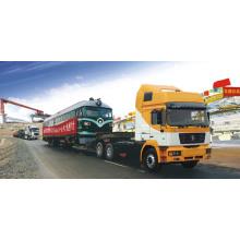 Camion de cargaison de camion de Shacman 340HP 25cbm