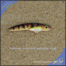 VBL015 9cm 3 leurre artificiel de vibration font le leurre de pêche en plastique