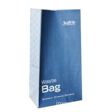 Travel custom logo vomit sickness paper bag