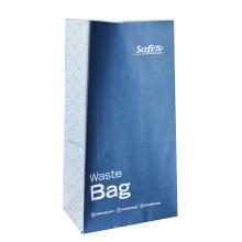 Бумажный пакет с воздушной болезнью с верхней полоской