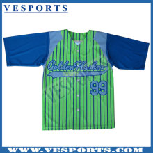 Sublimation College Baseball Jersey Sublimated
