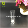 20ml clear transparent cosmetic serum bottle plastic vacuum airless container