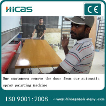 Automatic Wood Spray Painting Machine for Cabinet Door