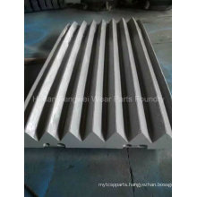 Aftermarket Jaw Crusher Plates for Jaw Crushers