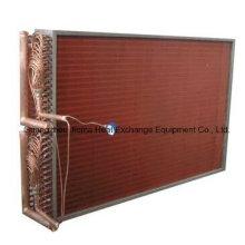 Echangeur de chaleur à air en tube de cuivre pour refroidissement d'air