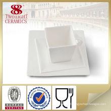 bone china ceramic square coffee cup set , popular design tableware