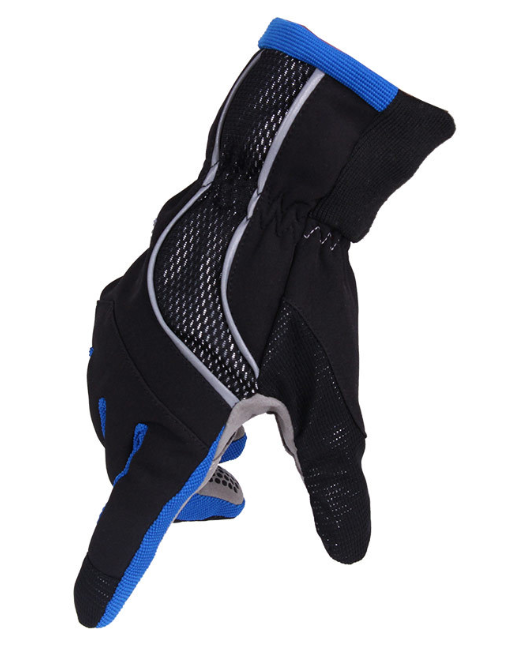 Glove Back Design With Elastic Mesh