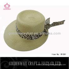 Chapeau de plage pour femme avec ruban 2013