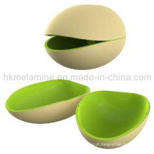 Tigela de noz de melamina de dois tons (bw271)