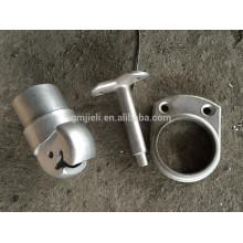 Piezas de fundición de cera perdida de acero inoxidable / metal para la construcción de OEM