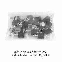 Amortiguador de alta calidad de la vibración del silicón y del generador de M8 * 23 D30H20 V / V para los motores CUMMINS