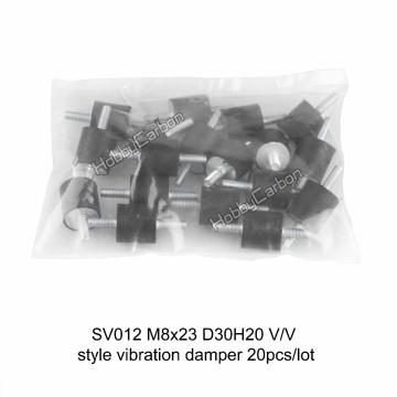 High Quality M8*23 D30H20 V/V Silicone and Generator Vibration Damper for Cummins Engines