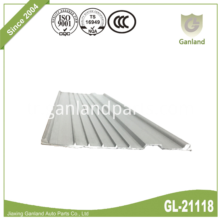 Aluminum Guide Rail Extrusion GL-21118