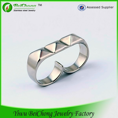 Double Finger Ring for Men
