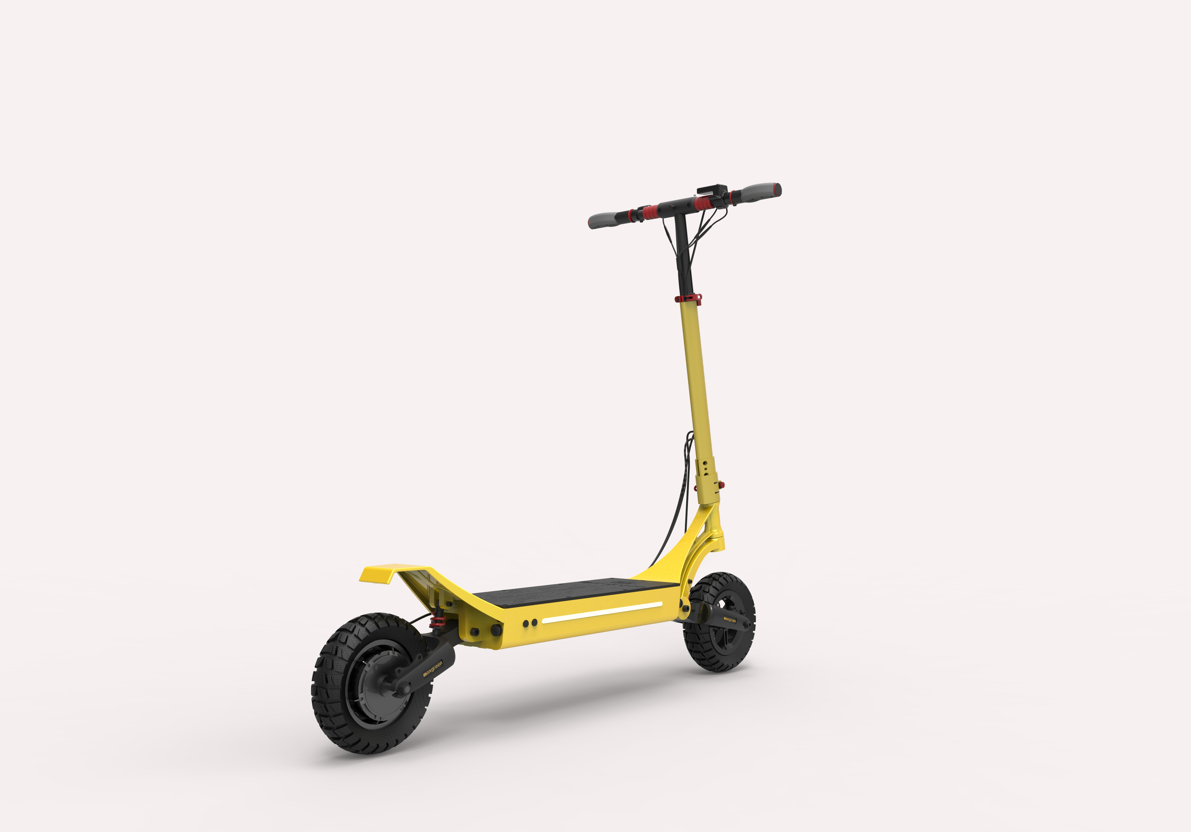 Solid Tyres Scooter