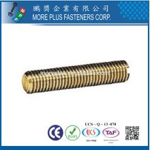 Feito em Taiwan High Quality Custom Brass Slotted Headless Set Screws