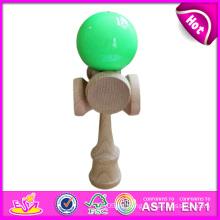 Kendama de madera enorme del superventas, juguetes de madera al por mayor de Kendama, juguete de madera de Kendama con 20.5 * 6cm W01A021