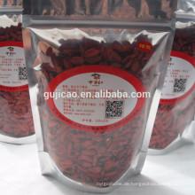 Kostenlose Probe Bio-zertifizierte getrocknete Goji-Beere