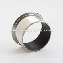 SF-1S Stainless steel bearing, SS304 Flanged Bearing Bushing, SS316 teflon coated self lubricating bearing