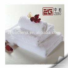 Pure White 16s Super Soft and Good Hand Touch Cotton Bath Towel Set Sale
