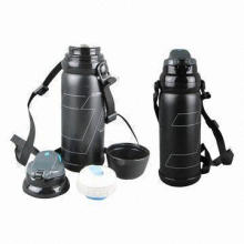 Double Wall Vacuum Flask with Vacuum Structure to Keep Warm Up to 24 Hours, 100% BPA-free