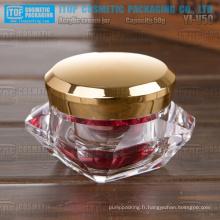 YJ-V50 50g cristal à la mode et innovantes acrylique 50g matière diamant jar
