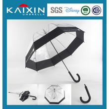 Nuevo modelo de paraguas transparente Poe Rain
