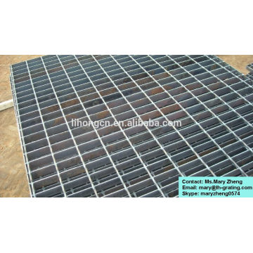 Hot dip galvanizing flat type steel grating