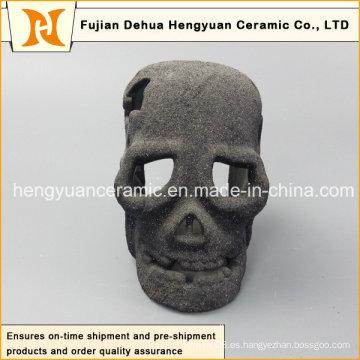Decoración al por mayor del arte de la decoración de la fábrica Regalo negro de cerámica de la decoración de Halloween