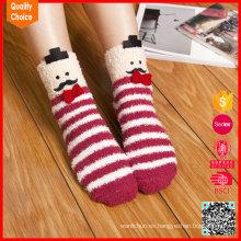 Venta al por mayor de China personalizado de punto de invierno divertido calcetín de Navidad