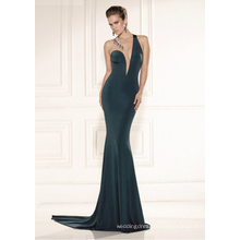 Sexy Green Mermaid Prom Party Evening Dress