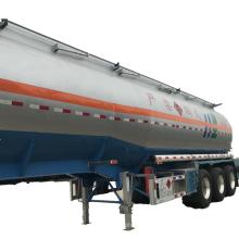 Remorque de réservoir de carburant d'huile de semi-remorque de réservoir