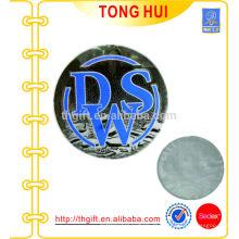 3D-Druck-Metall-Etikett, weicher Metall-Aufkleber, Stannum-Aufkleber, Klebe-Metall-Label, Parfüm-Label
