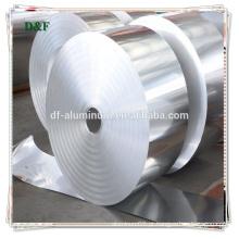 Papel de alumínio de baixo preço, rolos de papelão de alumínio
