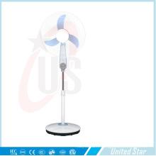 Ventilateur de support en plastique rechargeable / DC de 16 pouces (USDC-466)