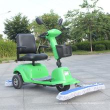 Nuevo tipo barredora de polvo eléctrica de tres ruedas con asiento (DQT9)