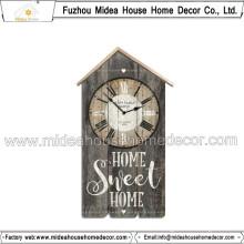 Good Quality Interior Home Decoration Vintage Wood Wall Clock