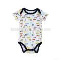 Hot sale infant climb jumpsuit short sleeve cartoon baby plain black romper