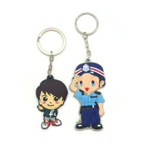 Promotion High Quality PVC Rubber 3D Custom Made Keychain