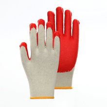EN388 Polyester Latex Protective Gloves