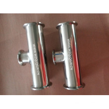 304/316L Stainless Steel Sanitary Special Reducer Clamped Tee